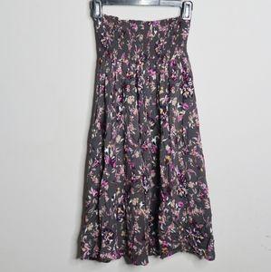 ✨NWT✨ Susina Strapless Floral Midi Dress